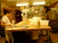 the bakery team at work