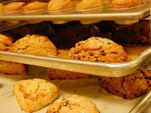 ove fresh scones and muffins